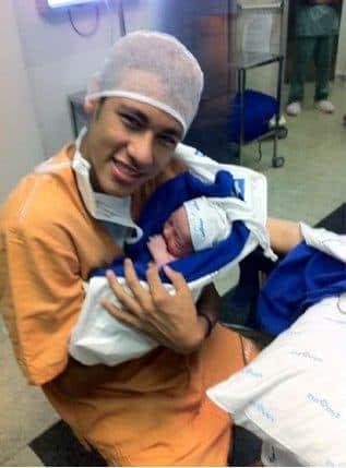 Fotos do Davi Lucca, o filho do Neymar