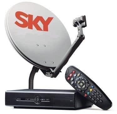 Como instalar a antena da Sky