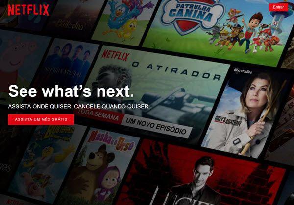 Como fazer assinatura da Netflix