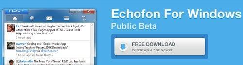 Echofon para Windows