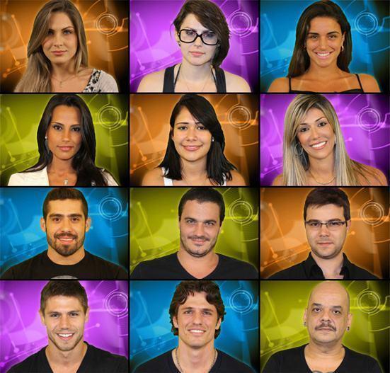 Participantes do BBB 12