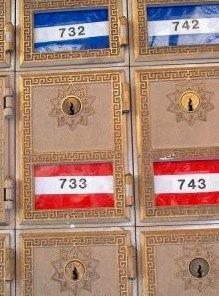 Como alugar uma caixa postal