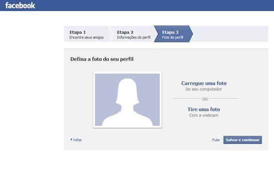 Como criar conta no Facebook 4
