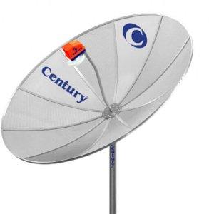 Instalação da Antena Parabólica Century