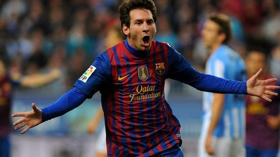 O recorde de Lionel Messi