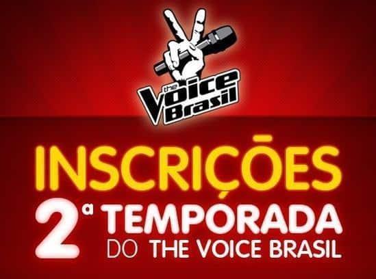 Como fazer a inscrição no The Voice Brasil 2013