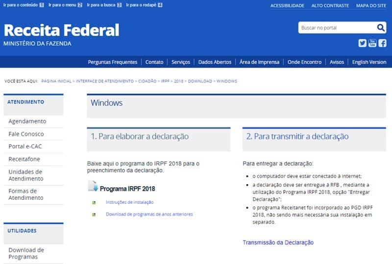 Programa de Imposto de Renda
