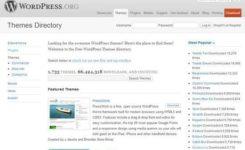 Onde baixar temas grátis para WordPress