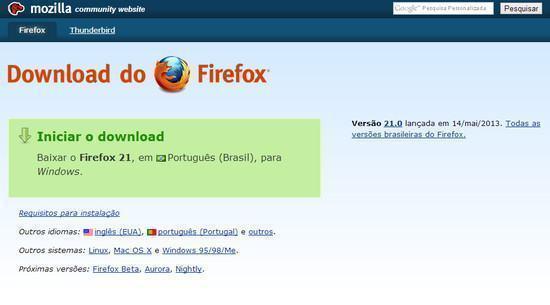 Como baixar e instalar o Firefox