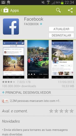 Como fazer o download do aplicativo do Facebook para o celular