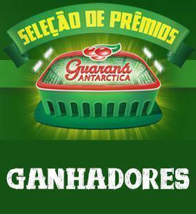 Ganhadores da promoção Seleção de Prêmios Guaraná Antarctica