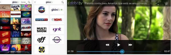 Aplicativo Globo TV