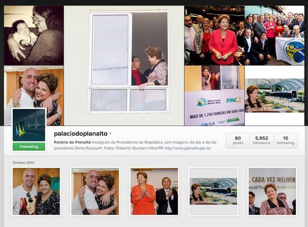 Como seguir a Presidenta Dilma no Twitter e no Instagram