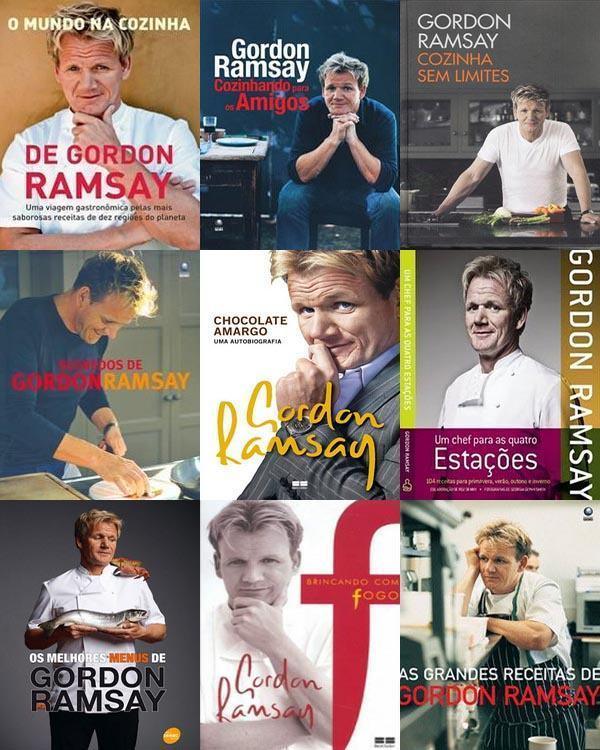 Livros do Gordon Ramsay