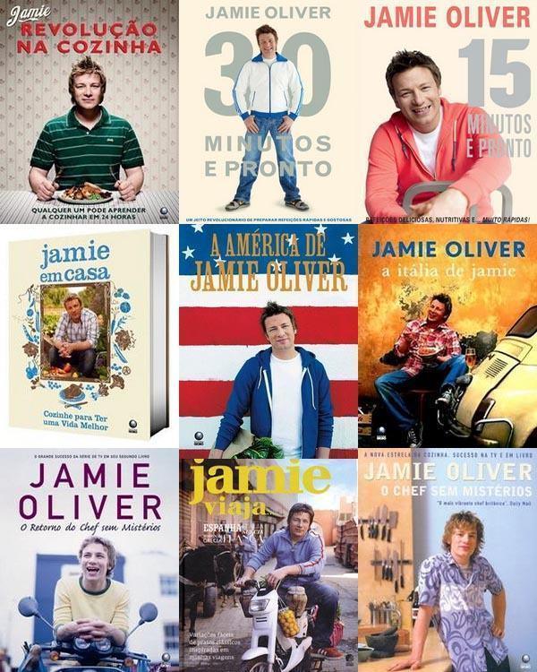 Livros do Jamie Oliver