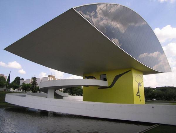 Pontos Turísticos de Curitiba - Museu Oscar Niemeyer