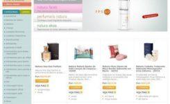 Como comprar Natura pela internet