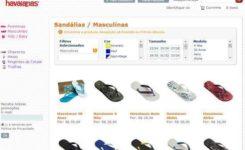 Como comprar suas Havaianas pela internet