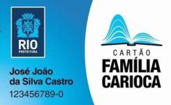Como se cadastrar no Cartão Família Carioca
