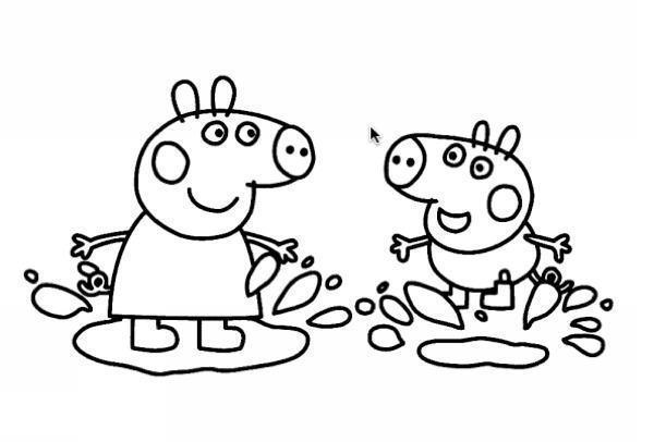 Desenhos Da Peppa Pig Para Colorir Basta Imprimir E Se Divertir
