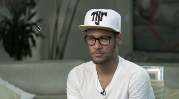 Entrevista de Neymar no Fantástico
