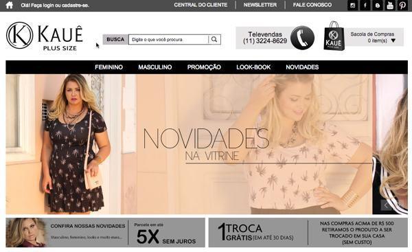 Onde comprar roupas plus size online
