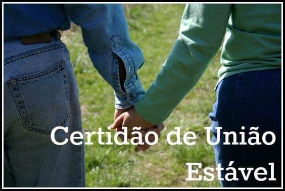 Como tirar certidão de união estável