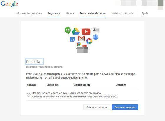 Como fazer backup de Gmail