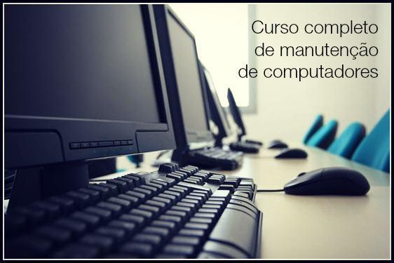 Curso completo de manutenção de computadores