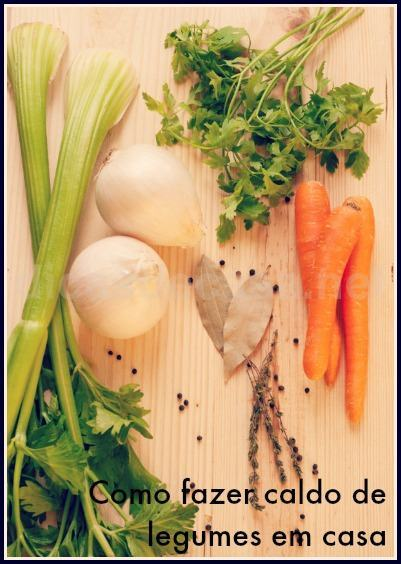 Como fazer caldo de legumes em casa