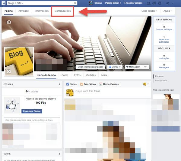 Como excluir página do Facebook