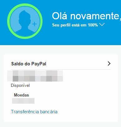 Como retirar dinheiro do PayPal para a conta bancária