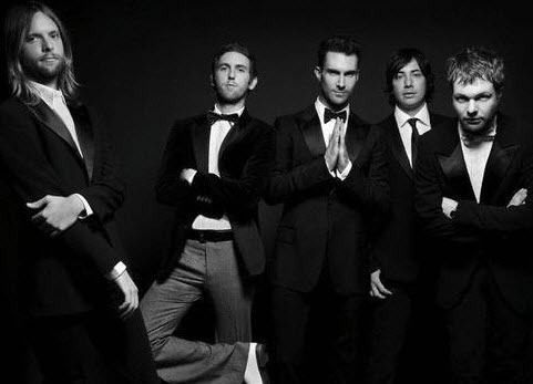 Show no Maroon 5 Brasil 2015