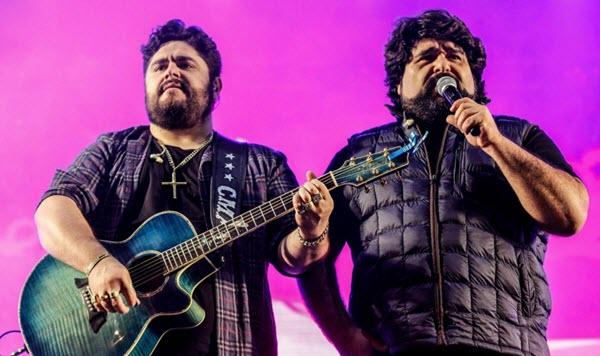 Agenda de shows César Menotti e Fabiano