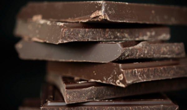 Chocolate amargo faz bem